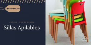 mejores sillas apilables