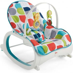 silla trona de bebé fisher price